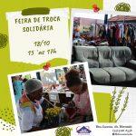 Feira de Troca Solidária – 18/10