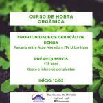 Curso de Horta Orgânica